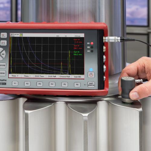 Ultrasonic Testing - Draagbare toestellen